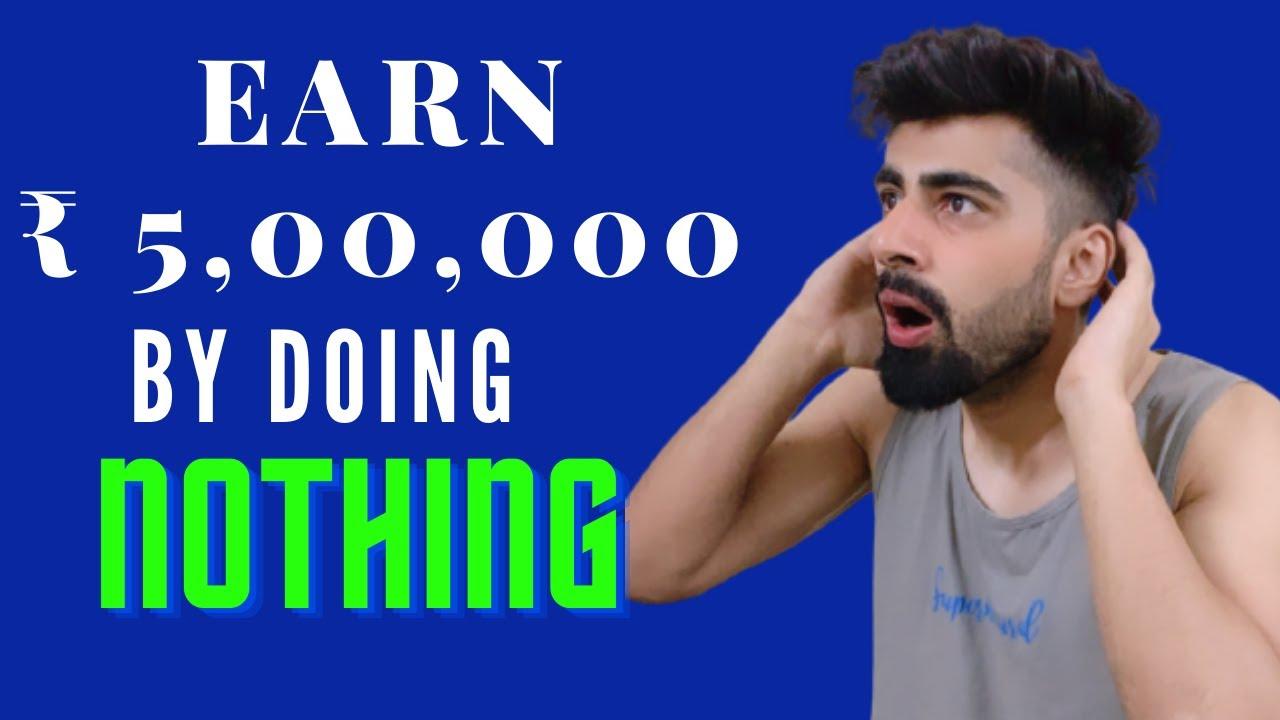 Make 5,00,000 by Not Doing Anything|Mridul Madhok thumbnail