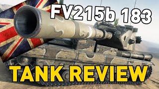 World of Tanks || FV215b 183 - Tank Review