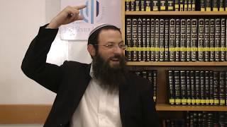איסור והיתר סימן סט סע' א-ה הרב אריאל אלקובי שליט''א