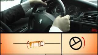 Занос переднеприводного автомобиля.