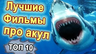 ТОП-10 Лучшие фильмы про акул.  Фильмы ужасов про акул