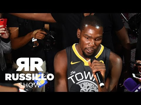 Did Kevin Durant make fake Twitter account? | The Ryen Russillo Show | ESPN