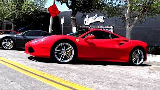 West Coast Customs Hosts Ferrari Club of America