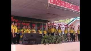 GECS-champion In Christmas Cantata 2012 In Talipan Pagbilao,Quezon
