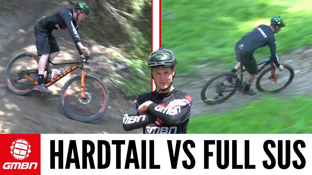 Hardtail Vs. Full Suspension Mountain Bike – What is Faster?