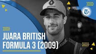 Profil Daniel Ricciardo - Pembalap Formula 1 yang Pernah Juara British Formula 3 dan Formula Renault