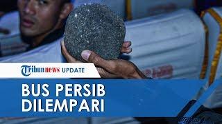 Video Bus Pemain Persib Bandung Dilempari Batu, Kepala Febri Haryadi dan Omid Nazari Terluka Parah