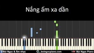 Nắng Ấm Xa Dần - Sơn Tùng M-TP | Piano Tutorial #41 | Bội Ngọc Piano