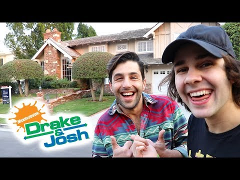 SURPRISING JOSH WITH DRAKE AND JOSH HOUSE!! (видео)