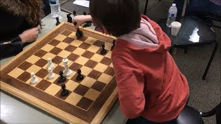 7 Year Old vs. USCF 1508 Ending Will Make Your Heart Pound Like Crazy! Golan vs. Shir