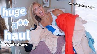 HUGE CLOTHING HAUL (basics + Athleisure)⎪Aritzia, Nike, Lululemon, Urban + MORE
