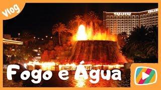 Dança do Fogo e da Agua em Las Vegas