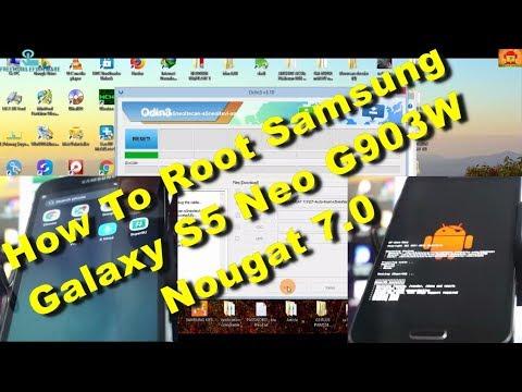 Root Samsung Galaxy S5 Neo G903W Nougat 7 0 Safe Method - Free video