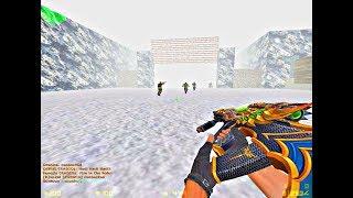 Counter Strike 1.6: Zombie Escape - Jurassicpark Winter [New Year Map]