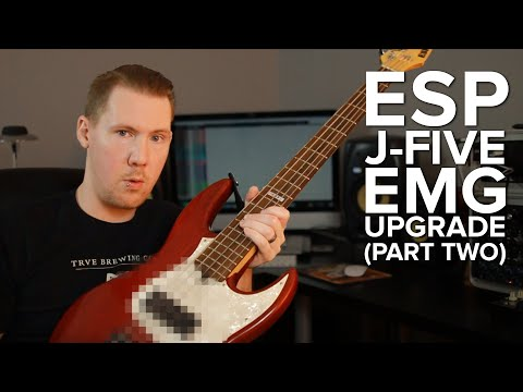 ESP J-Five (Part II) - The Bass is Back!