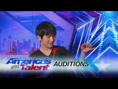 Will Tsai: Close-Up Magic Act Works With Cards and Coins - America's Got Talent 2017