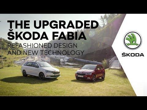Skoda  Fabia Хетчбек класса B - рекламное видео 4