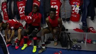 Calentamiento Real Sociedad vs RCD Mallorca