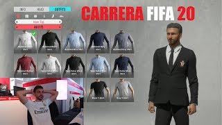 DIRECTO DE MODO CARRERA EN FIFA 20 !!!!!