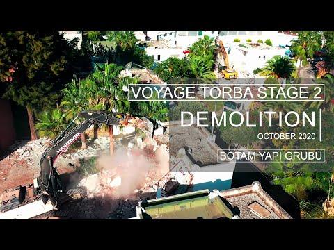 Demolition of Voyage Torba - Stage 2