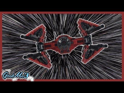 Vidéo LEGO Star Wars 75240 : TIE Fighter de Major Vonreg