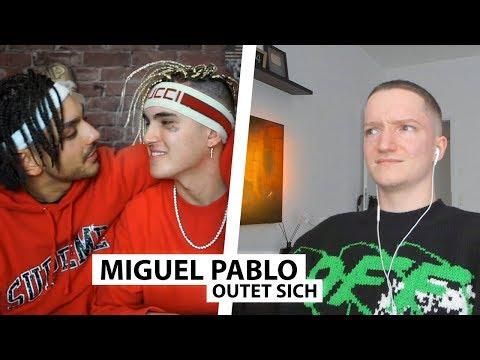 Justin reagiert auf Miguel Pablo's Outing.. | Reaktion