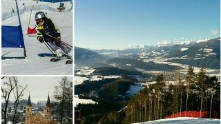 На лыжах в Kronplatz ( Италия )