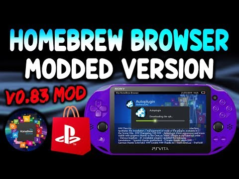 Download Ps Vita Homebrew Browser Version 0 83 Fixed Video