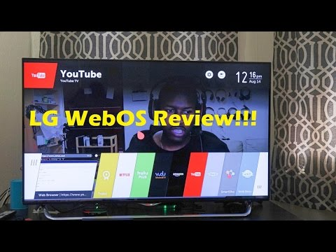 LG WebOS Review [4K]