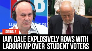 Iain Dale Explosively Rows With Labour MP Over The Competency Of Student Voters