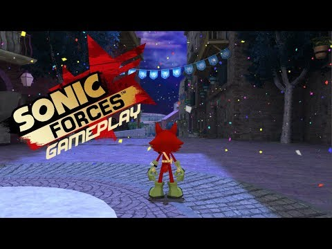 Sonic Generations GamePlay - Forces Avatar In Night Heights