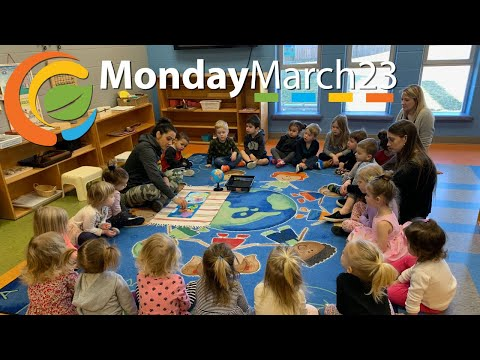 Morning Montessori Circle with Mrs. T : Episode 1 - Monday, March 23, 2020
