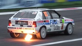 Lancia Delta HF Integrale Rally Group A - Sound, Flames, Action & More!!