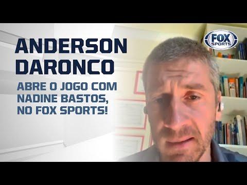 ÁRBITRO ANDERSON DARONCO ABRE O JOGO COM NADINE BASTOS, NO FOX SPORTS!
