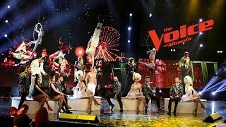 Kënga e Finalistëve – Party like a Russian – Finale - Netët Live – The Voice of Albania 6