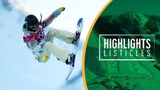 Top 5 Womens Snowboard Halfpipe | Highlights Listicles