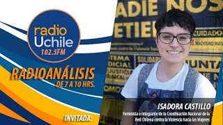 """Isadora Castillo se refiere a la campaña """"¡Cuidado! El machismo mata"""""""