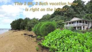 Gorgeous Kauai Beachfront Vacation Rental House right on Anini Beach