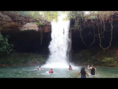 Cachoeira do Sussuapara Barreiras do Piauí