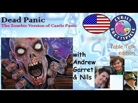 Cyrils Brettspiele - Table Talk Edition (eng.) - Dead Panic - TAG06