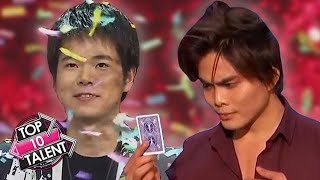 TOP 10 MAGICIAN Auditions And Performances On Got Talent!