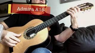 Test: Admira A15 Classical Guitar parte 2