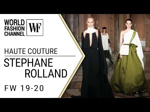 Stephane Rolland Haute couture Fall-winter 19-20