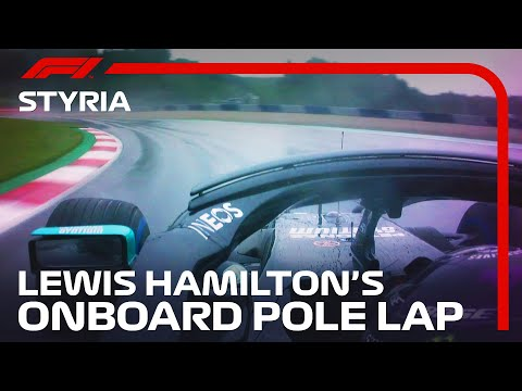 F1 2020 第2戦ピレリ・シュタイアーマルクGP 予選ポールポジションのルイス・ハミルトンのオンボード映像