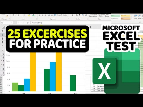 How to Pass Intermediate Excel Test with 25 Exercises for Practice ...