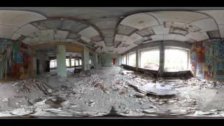 Чернобыль. Зона отчуждения  (панорамное видео 360 °)