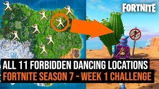 All Forbidden Dance Locations Video Video
