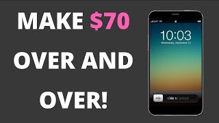 HOW TO MAKE $70 OVER AND OVER FROM YOUR LOCK SCREEN! {PROOF!!!}