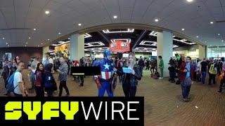 VR360 | 360° Sidekick Search | Emerald City Comic Con 2018 | SYFY WIRE