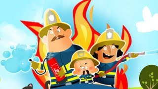 Маленькие Пожарники.Смешная и Озорная Пожарная Команда.Игровой Мульт